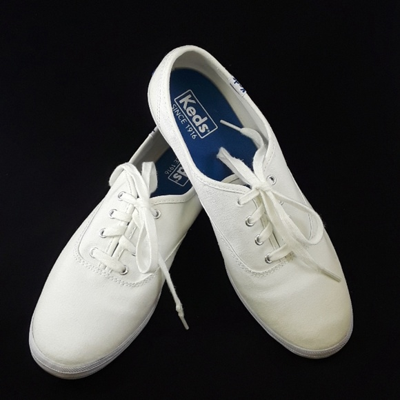 fedddff20873e3 Keds Shoes - Keds Champion Canvas Originals White Size 8M